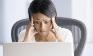 black-woman-stressed-at-computer